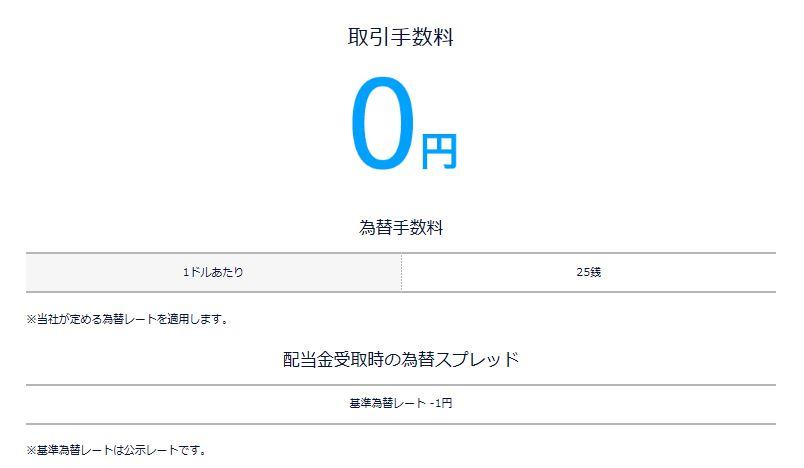 DMM アメリカ株手数料