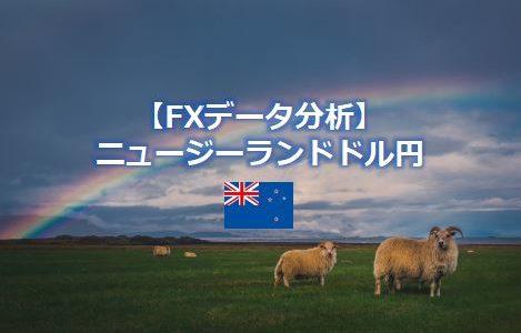 NZドル円の変動幅と推移~FX通貨データ分析【NZD/JPN】