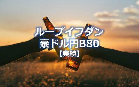 ループイフダン豪ドル円 設定失敗で大損に!実績をブログ公開中【201909更新】