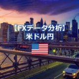 FXデータ分析(米ドル円)